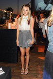 Ashley Tisdale mingled at InStyle's Summer party in LA.
