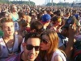 Coco Rocha and James Conran had a blast at Lollapalooza. Source: Twitter user cocorocha