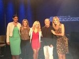 Rachel Roy and Hayden Panettiere were guest judges on Project Runway. Source: Twitter user heidiklum