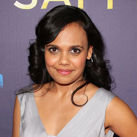 We loved Miranda Tapsell's classic curled hairstyle at the premiere. It's reminiscent of the screen siren peek-a-boo bang style of the '40s.