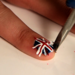 Make Your Own Nail Decals With Wax Paper and Nail Polish