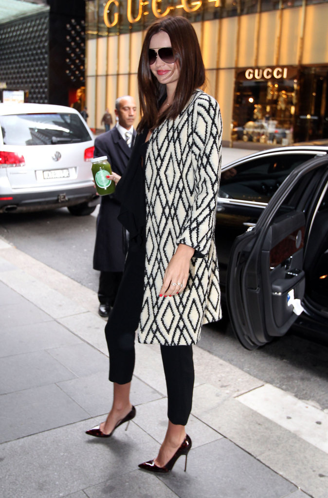 Miranda Kerr was out in Sydney.