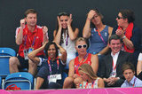 Kate Middleton got enthusiastic during the match.