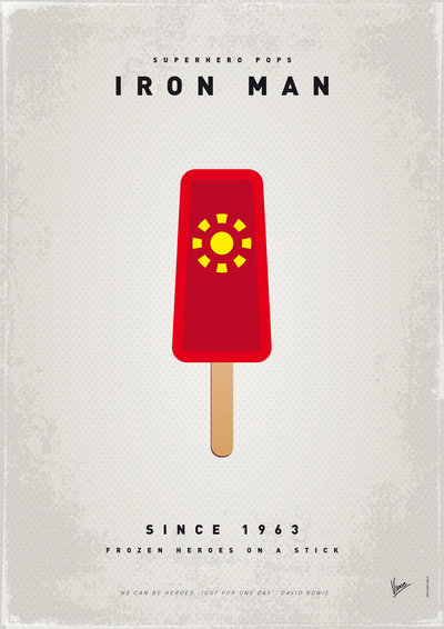 My Superhero Ice Pop: Iron Man ($18 to $55)