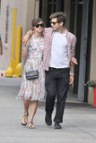 Keira Knightley and her fiancé made a pretty adorable pair — with Keira setting off her easy florals with a Chanel crossbody bag.
