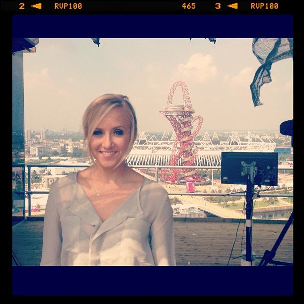 2012 Olympic Athletes' Instagram and Twitter Pictures ... Nastia Liukin Instagram