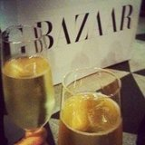 Cheers! Sugar Publisher Marisa and FabSugar Editor Ali toasted Harper's Bazaar's Being Bazaar screening.