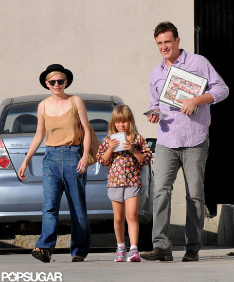 Michelle Williams, Jason Segel, and Matilda Ledger were out and about together in LA.