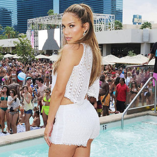 Sexy Jennifer Lopez Las Vegas Party Pictures