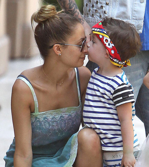 Nicole Richie and Joel Madden Have an Adorable Day Out With Their Kids