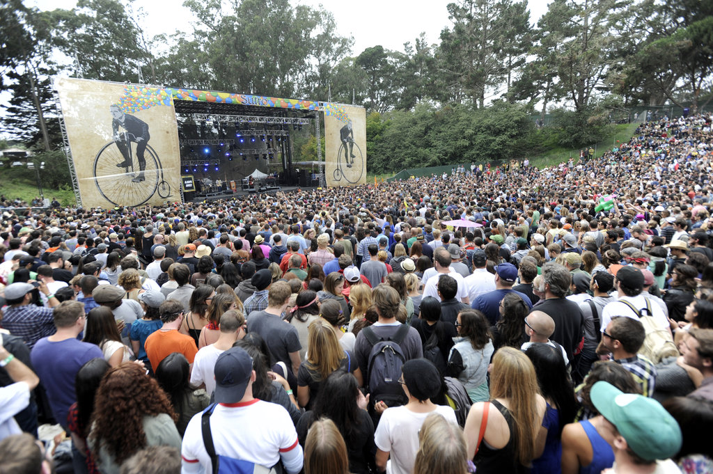 The Sutro stage hosted acts like Alabama Shakes and Andrew Bird.