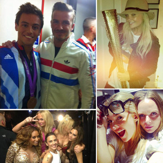 That's a Wrap — All the Pics Celebs Shared From London & the Olympics