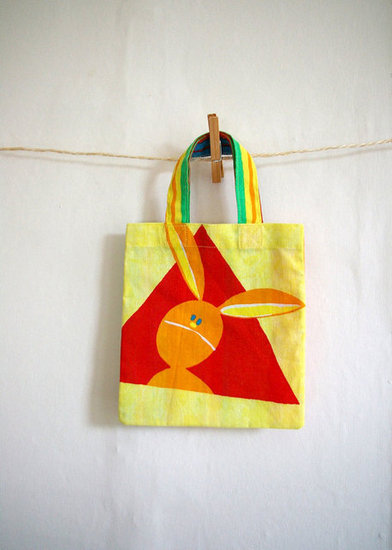 Wondering Rabbit Tote Bag ($13)