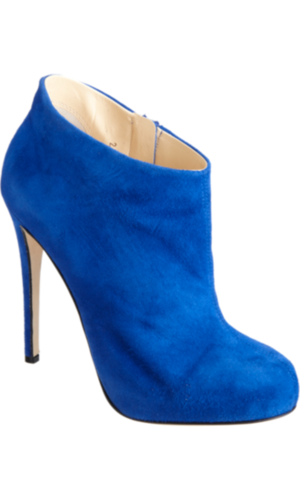 Barneys New York CO-OP Short Platform Ankle Boot