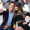 Dean Geyer and Lea Michele Pictures Filming Glee Season 4 in NYC