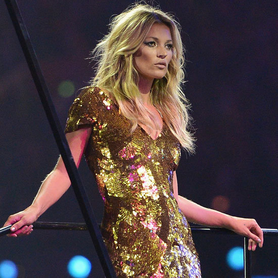 See the Supermodels Strut at the London Olympics Closing Ceremony