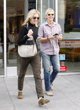 Ellen DeGeneres and Portia de Rossi checked out an LA art store in December 2011.