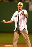 Ben Affleck threw out the first pitch at Fenway Park in August 2003.
