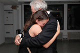 Jennifer Garner and Victor Garber embraced backstage following his solo performance.