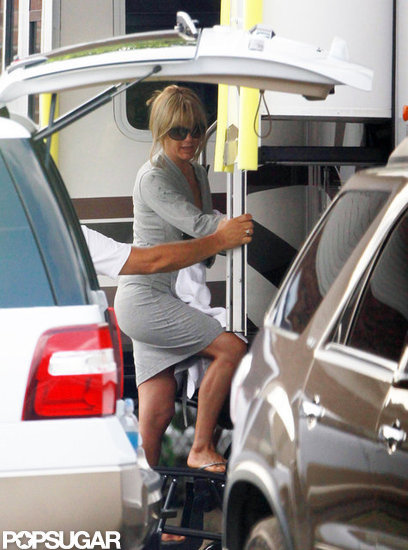 Jennifer Aniston's Back to Work Postengagement