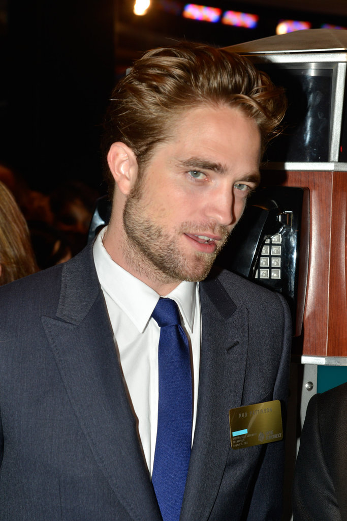 Robert Pattinson was on the floor at the New York Stock Exchange.