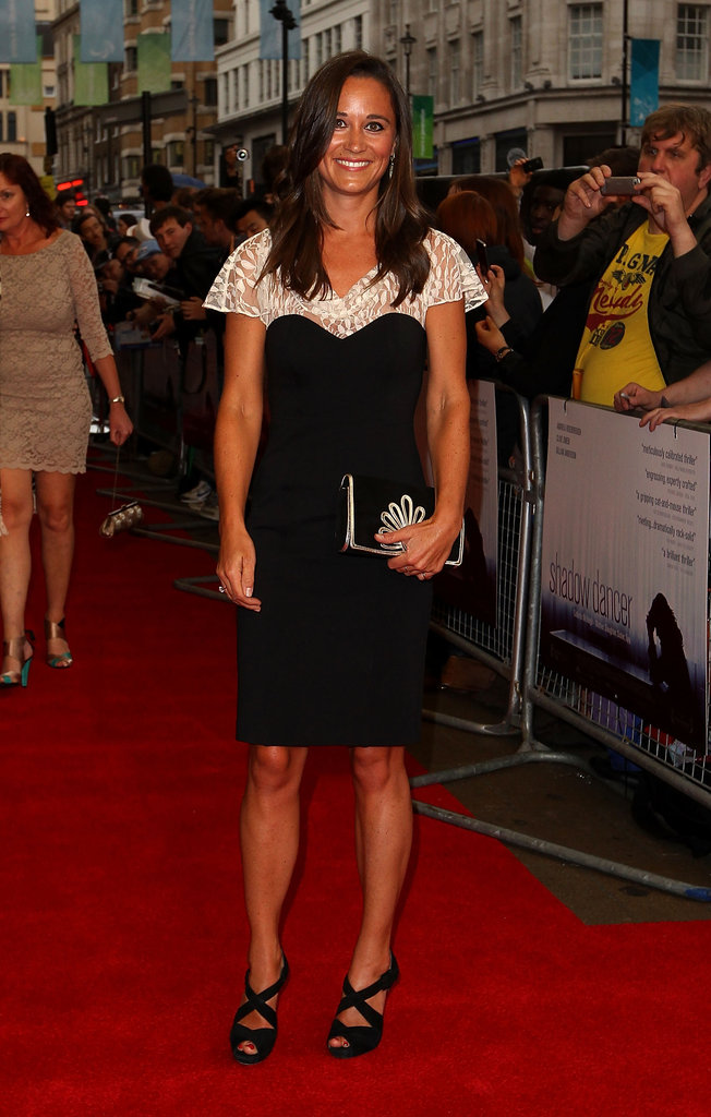 Pippa Middleton attended the UK premiere of Shadow Dancer at the Cineworld Haymarket.