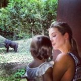 Ivanka Trump took her daughter to the Bronx Zoo.  Source: Instagram user ivankatrump