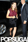 Jennifer Garner had a big smile on her face as she arrived at Good Morning America.