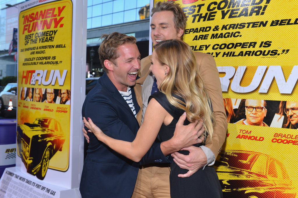Kristen, Dax, and Bradley Hit the Red Carpet For a Funny Premiere