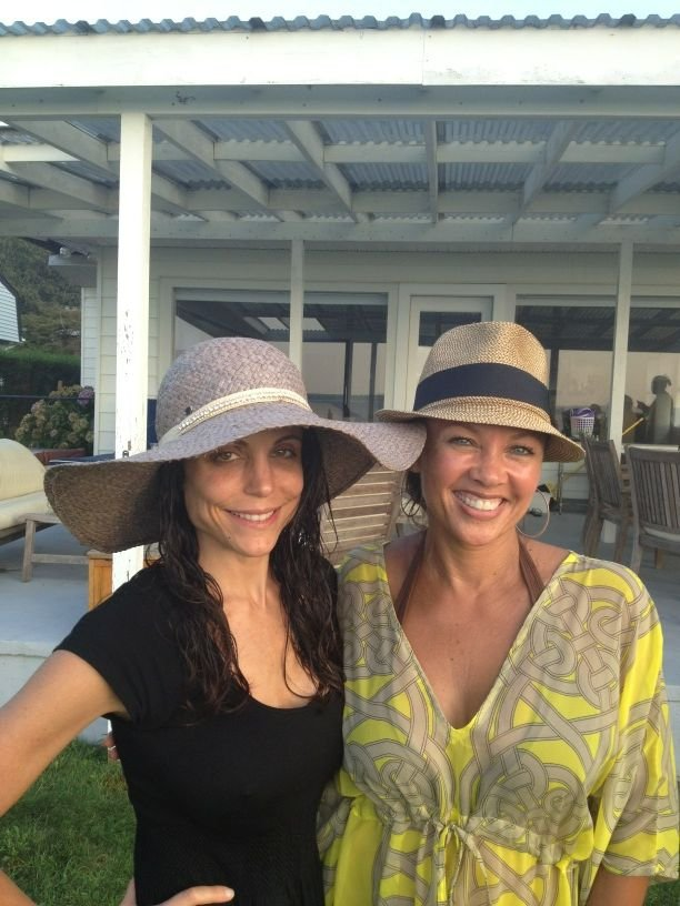 Bethenny Frankel ran into Vanessa Williams at a pool party. Source: Twitter user Bethenny
