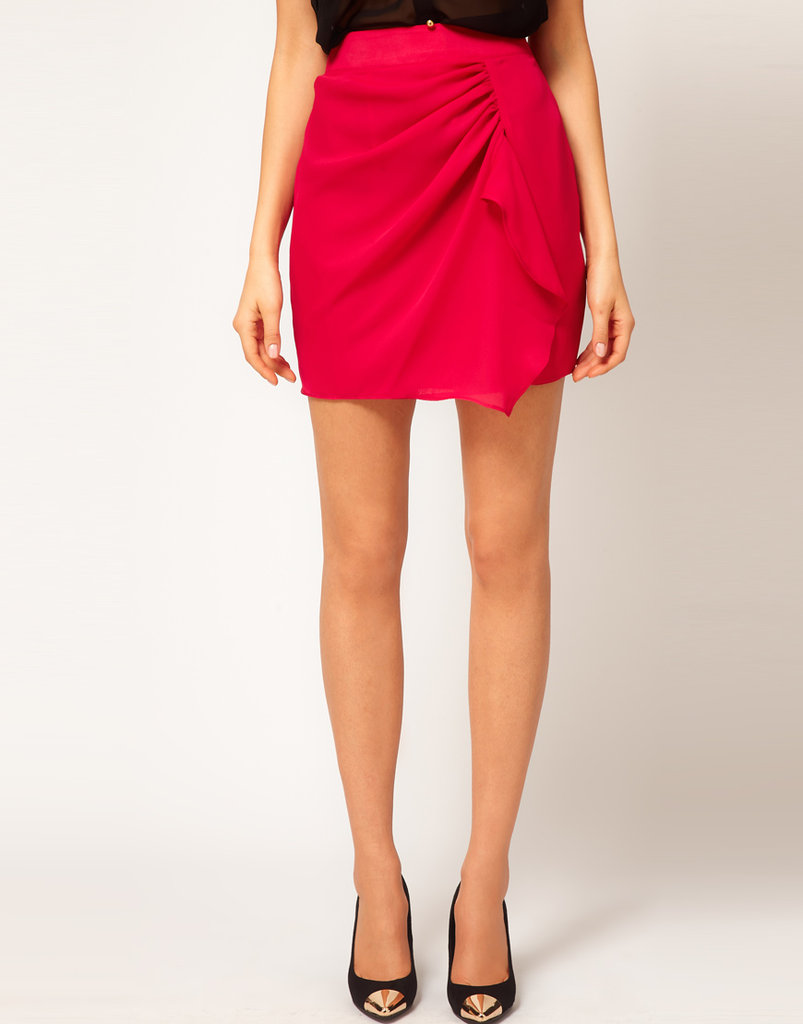 Brighten up your school day with this vibrant fuchsia skirt. ASOS Skirt With Wrap ($19, originally $37)