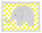 Elephant Nursery Wall Art Print