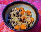 Carrot and Quinoa With Black Beans