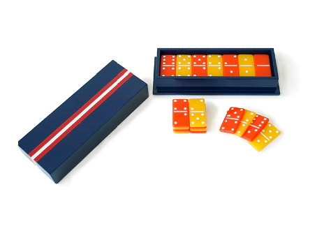 No home is truly complete without one, and this Navy Domino Set ($138) fits the bill. Made of colorful glossy lacquer, it's sure to make a bold statement on your tabletop.