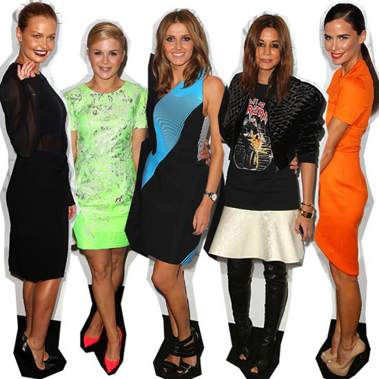 All the Front Row Celebrity Style from the 2012 David Jones Spring Summer Fashion Launch