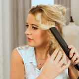 Learn How to Curl Your Hair Using a Straightener