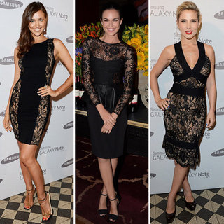 Black Lace Dresses (Celebrity Pictures and Shopping)