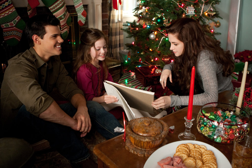 Christmas with the Cullens in Breaking Dawn Part 2.