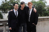 Costars Tom Sturridge, Sam Riley and Danny Morgan attended the UK premiere of On The Road.
