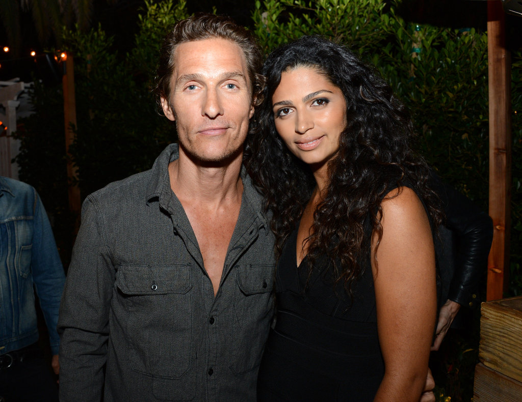 Matthew McConaughey and Camila Alves celebrated the September issue party for Nylon Guys and Macy's Inc.