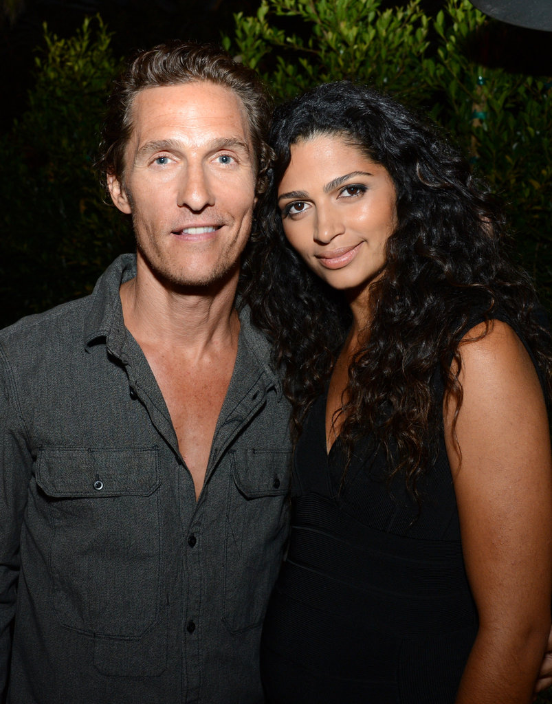 Matthew McConaughey and wife Camila Alves attended the Nylon Guys and Macy's Inc. September issue party in Santa Monica, CA.