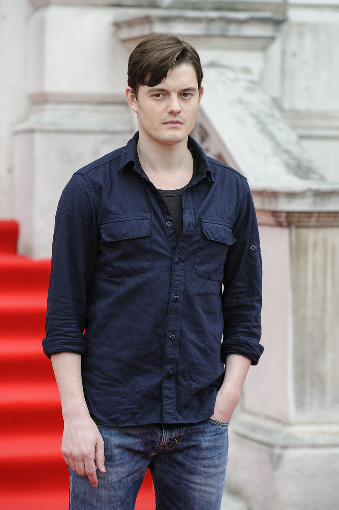 Sam Riley kept it cool at the UK premiere of On The Road.