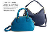 J.Crew Biennial Medium Satchel ($275) and Biennial Hobo ($325)