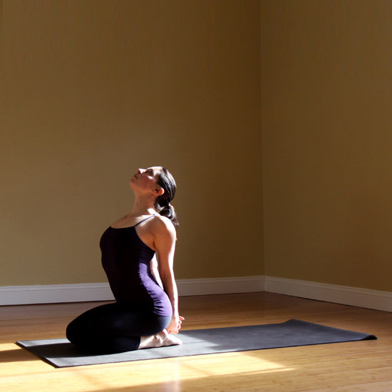 Seated Heart Opener Pose