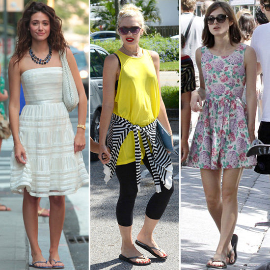 7 Fresh Celebrity-Approved Ways to Wear Your Summer Flip-Flops
