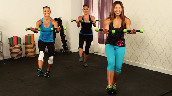 At-Home Zumba Workout: Get Fit While Gettin' Down