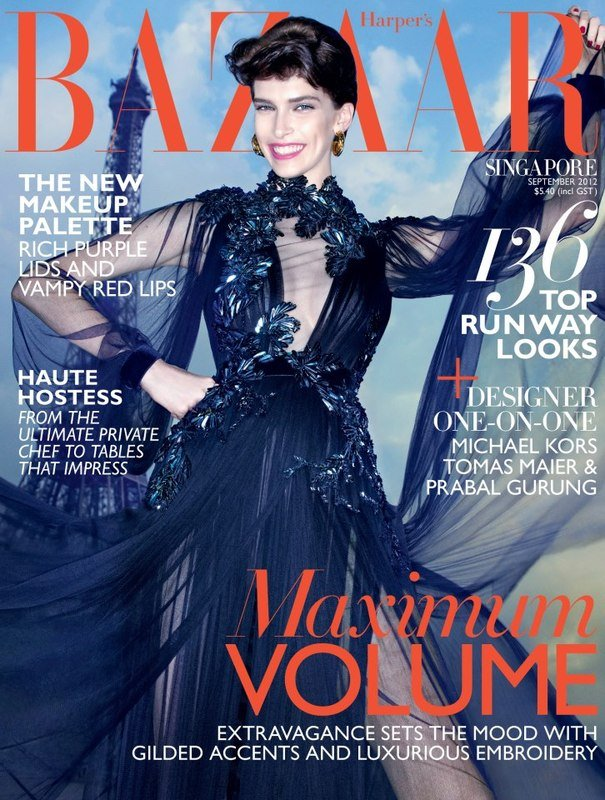 Harper's Bazaar Singapore September 2012