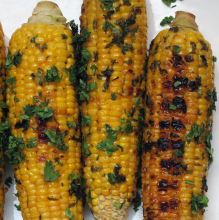 Cilantro-Lime Corn