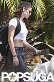 Kristen Stewart was out in LA after cheating scandal.