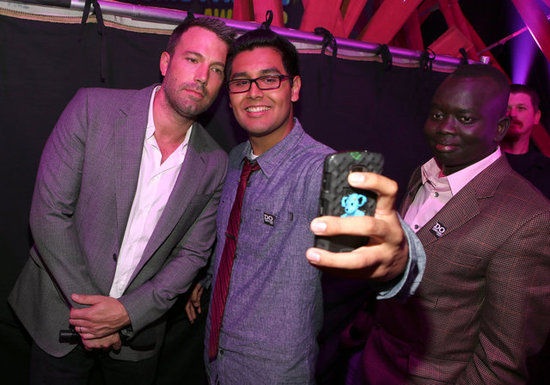 Ben Affleck got his photo taken with Danny Mendoza at the Do Something Awards.